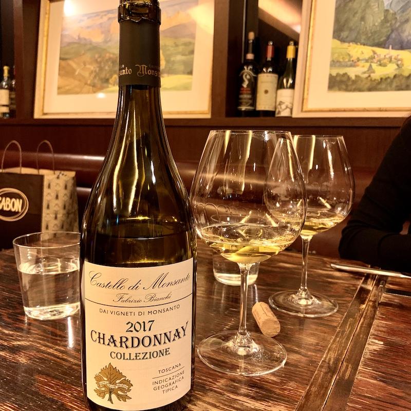 Castello di Monsanto Fabrizio Bianchi Chardonnay (カステッロ・ディ・モンサント ファブリッチオ・ビアンキ シャルドネ)